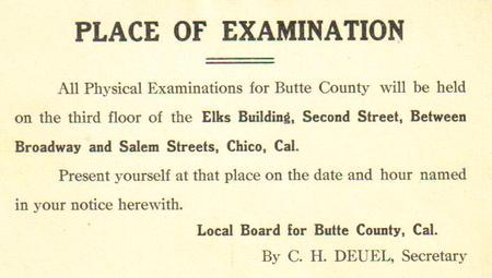Place_of_examination